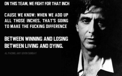 Al Pacino's Inspirational Speech (video)