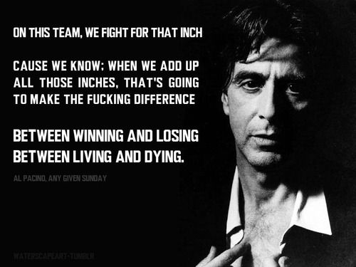 Al Pacino's Inspirational Speech