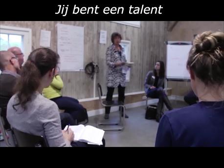 Jij bent een talent